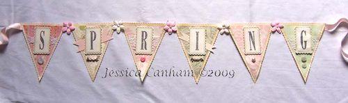 Spring banner for blog