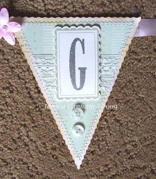 G for Spring banner blog