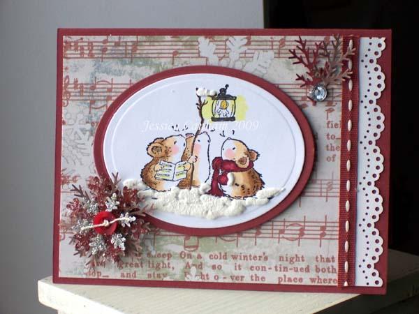 Caroling mice blog
