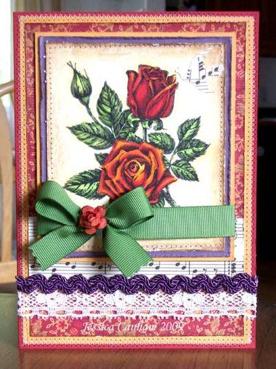 Autumn Roses blog