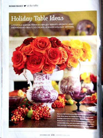 Country Living roses blog