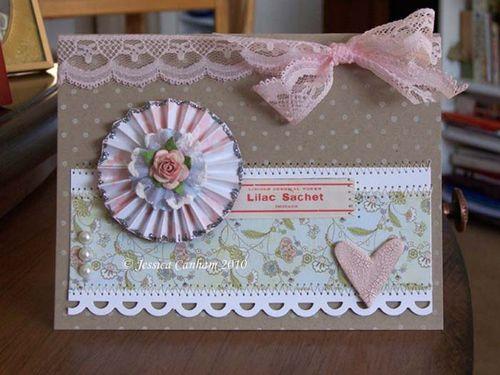 Lilac sachet blog