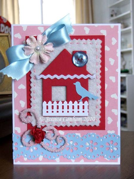 Chipboard bird house blog