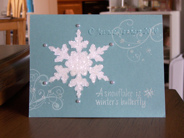 Winter's Butterfly blog