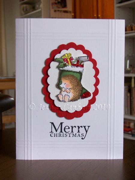 Hedgie Christmas simple blog