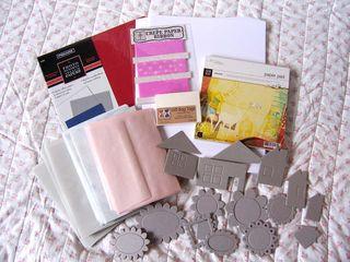 Paper chipboard closeup