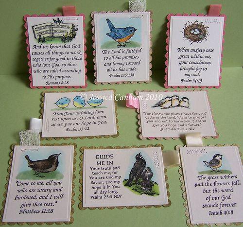 Prayer cards blog