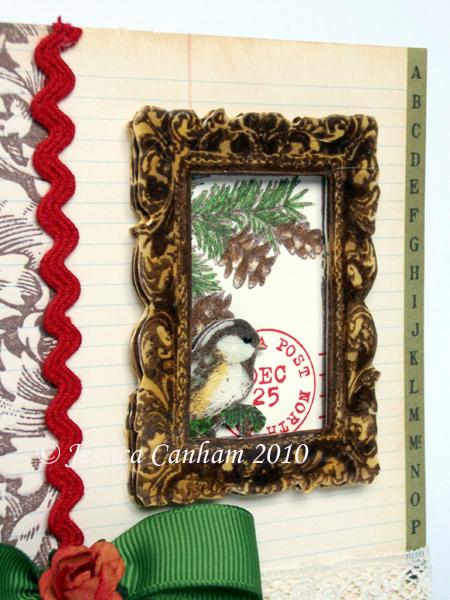 Chickadee frame close up blog