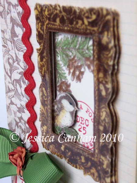 Chickadee Frame side view blog