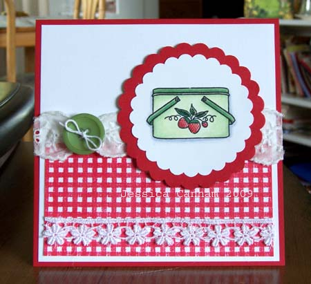 Strawberry picnic basket blog