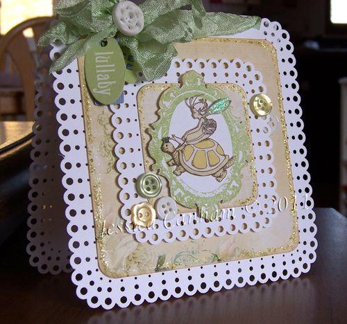 Lullaby Card closeup blog