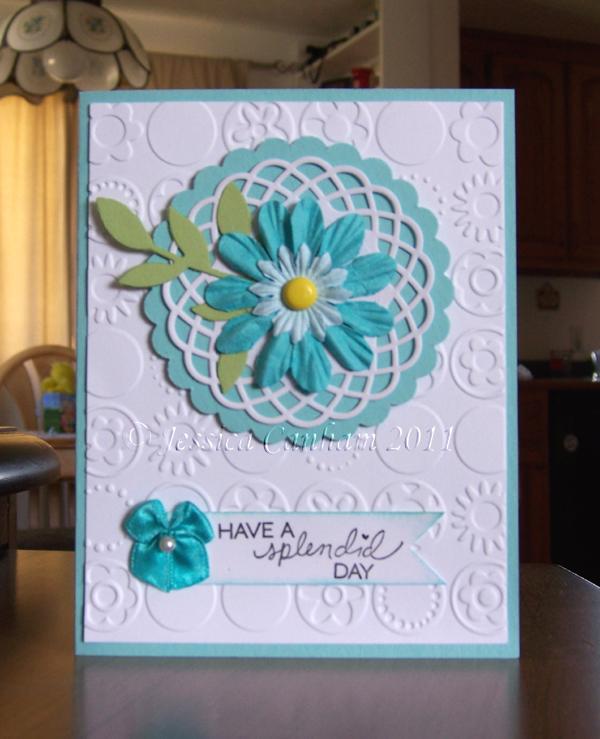 Turquoise Flower blog