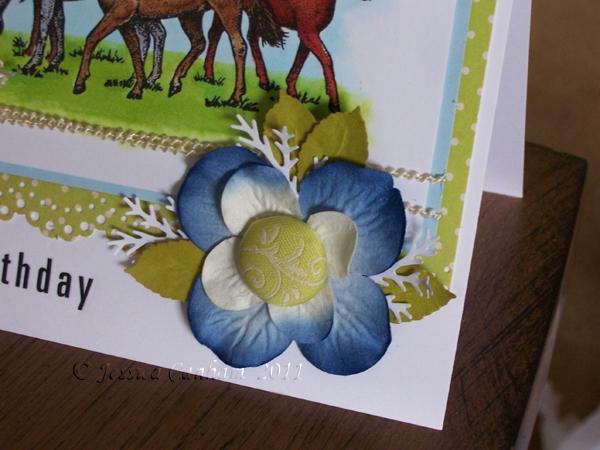 Stacked flower blog