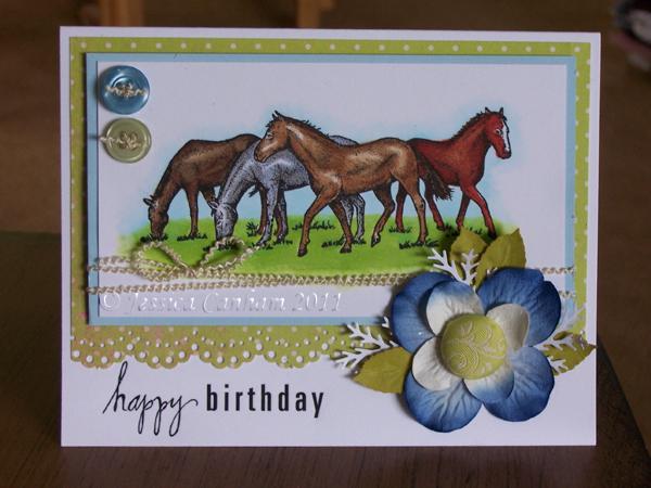 Birthday horses blog