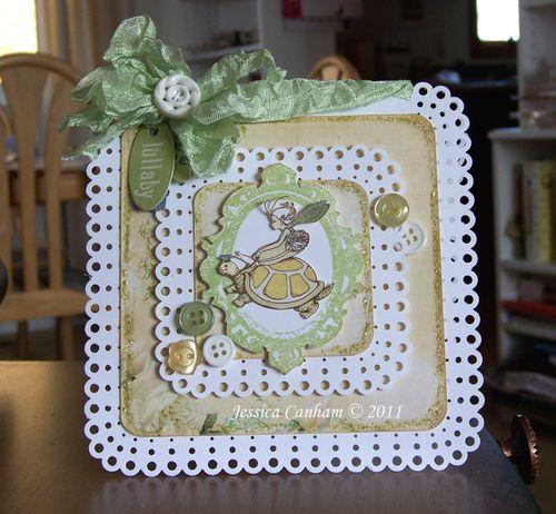 Lullaby Card blog