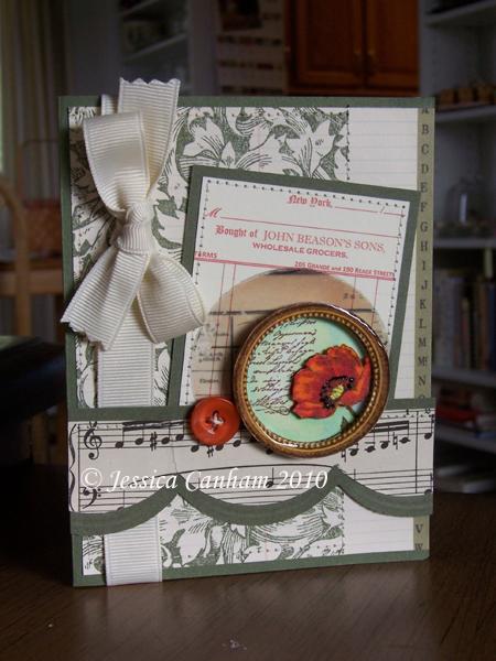Lacquered poppy frame blog
